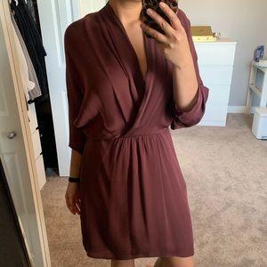 Silk Babaton Dress